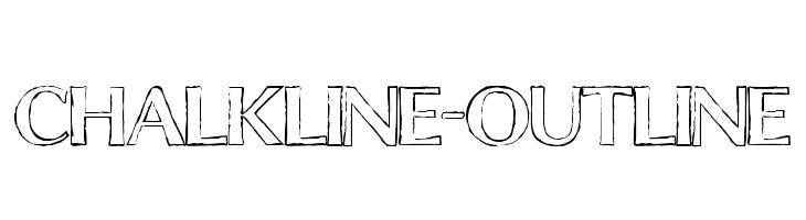 ChalkLine-Outline Font
