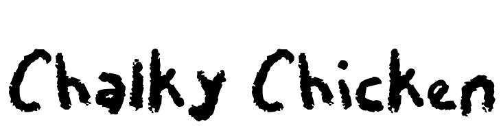 Chalky Chicken  フリーフォントのダウンロード