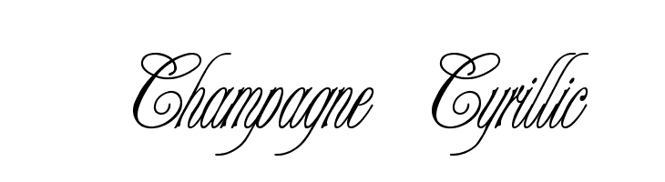Champagne Cyrillic  Descarca Fonturi Gratis