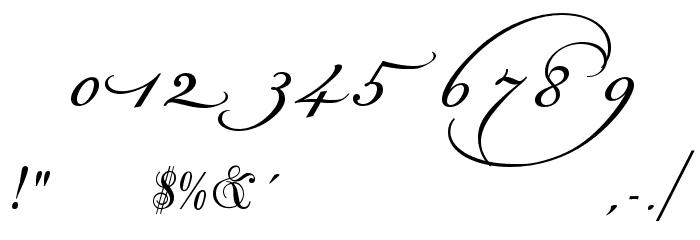 Champignon Alt Swash Font OTHER CHARS