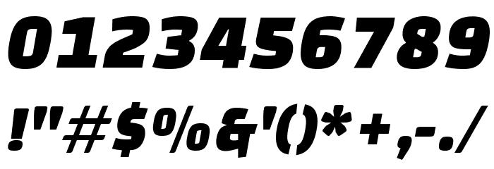 Changa One Italic 字体 其它煤焦
