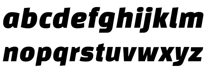 Changa One Italic 字体 小写