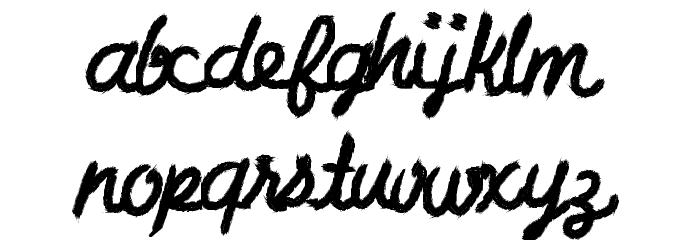 CharcoalScript لخطوط تنزيل الأحرف الكبيرة