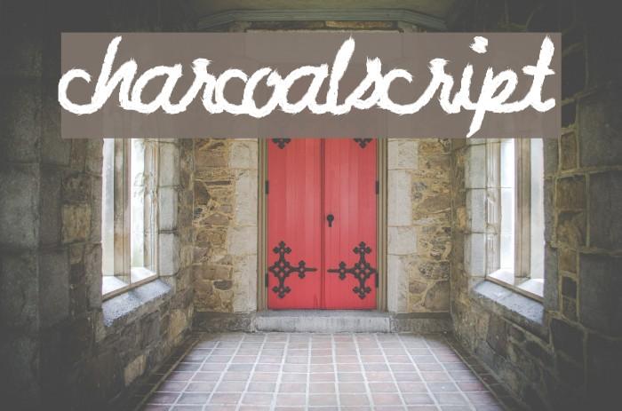 CharcoalScript لخطوط تنزيل examples