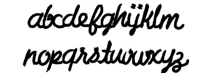 CharcoalScript لخطوط تنزيل صغيرة