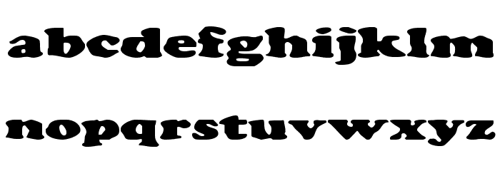 Charlemagne Font LOWERCASE