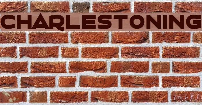 Charlestoning 字体 examples