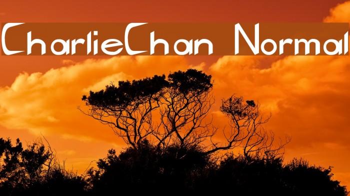 CharlieChan Normal Fonte examples