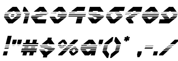 Charlie's Angles Halftone Italic Fonte OUTROS PERSONAGENS