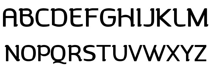 Charlotte Font UPPERCASE