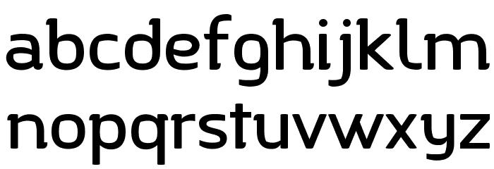 Charlotte 字体 小写