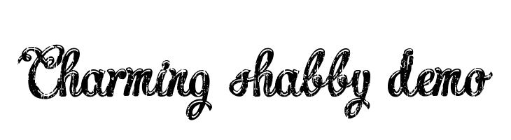 Charming shabby demo  font caratteri gratis
