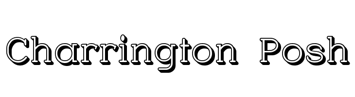 Charrington Posh  Free Fonts Download