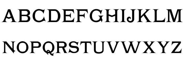 Chartrand Font Litere mari