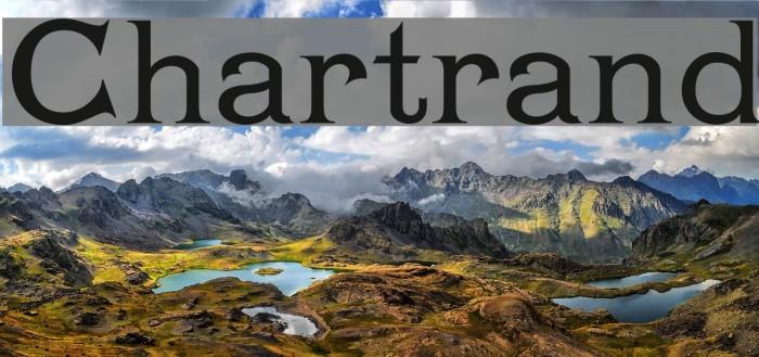 Chartrand Font examples