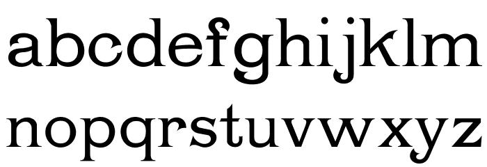 Chartrand Font Litere mici