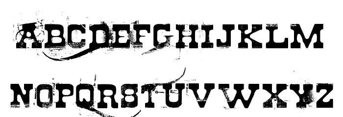 Cheap stealer Font LOWERCASE