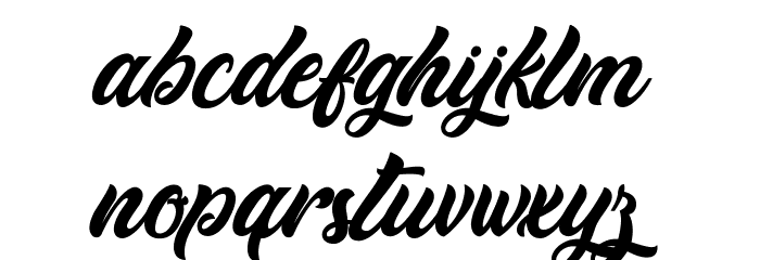 Cheetah Kick - Personal Use Font LOWERCASE
