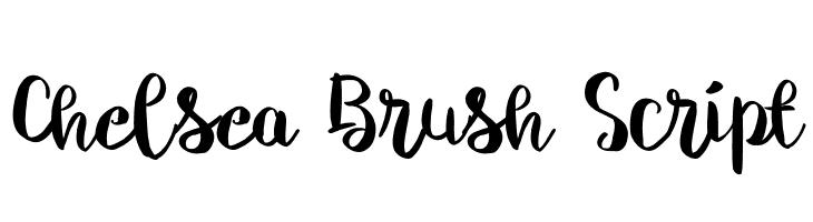 Chelsea Brush Script  Скачать бесплатные шрифты