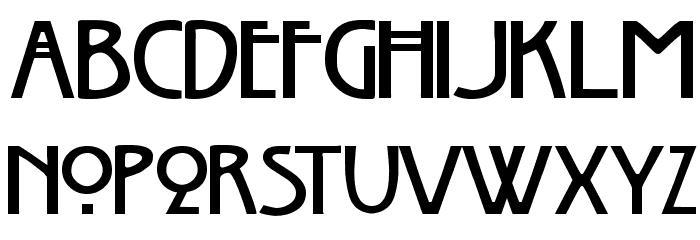 Chelsea Studio Font UPPERCASE