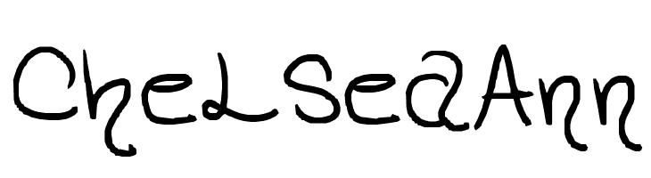 ChelseaAnn  baixar fontes gratis