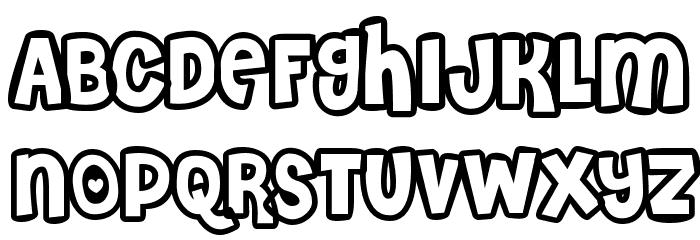 Cheri Liney Font UPPERCASE