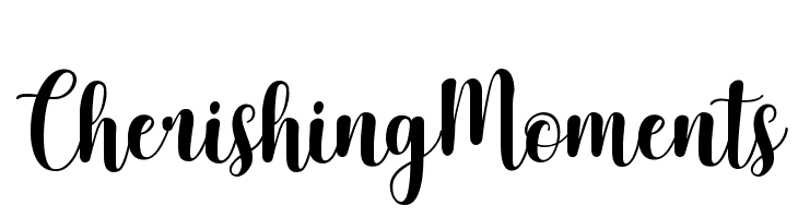 Cherishing Moments  Free Fonts Download
