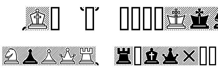 Chess Lucena Font UPPERCASE