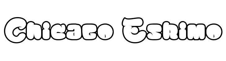 Chicago Eskimo  Free Fonts Download