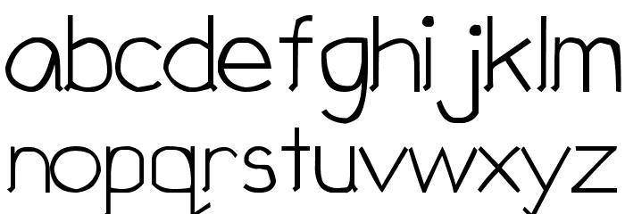 Children Sans Font LOWERCASE