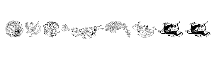 Chinatoo  Frei Schriftart Herunterladen