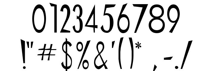 Chinese Regular Шрифта ДРУГИЕ символов