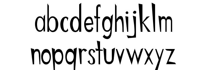 Chinese Regular Шрифта строчной