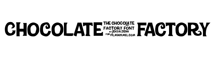 Chocolate-Factory  Free Fonts Download
