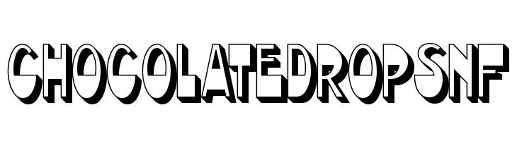 ChocolateDropsNF  Free Fonts Download