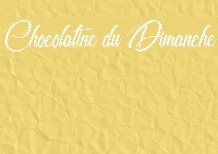 Chocolatine du Dimanche Fuentes examples