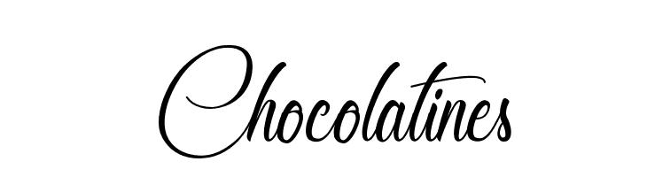 Chocolatines  font caratteri gratis