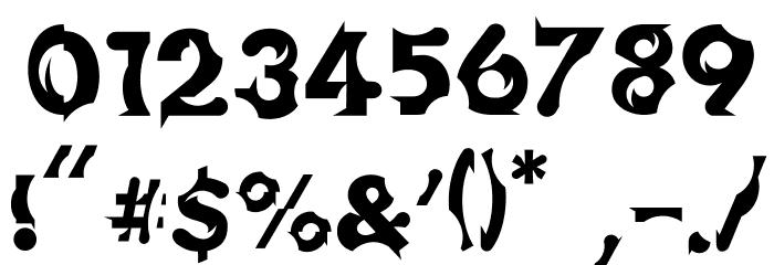 Chophouse Font OTHER CHARS