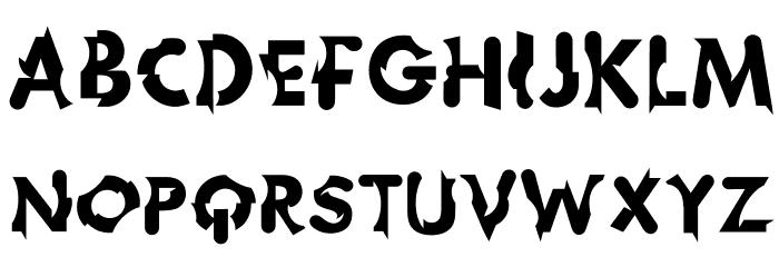 Chophouse Font UPPERCASE