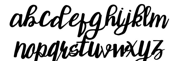 ChristTypeScript Font LOWERCASE