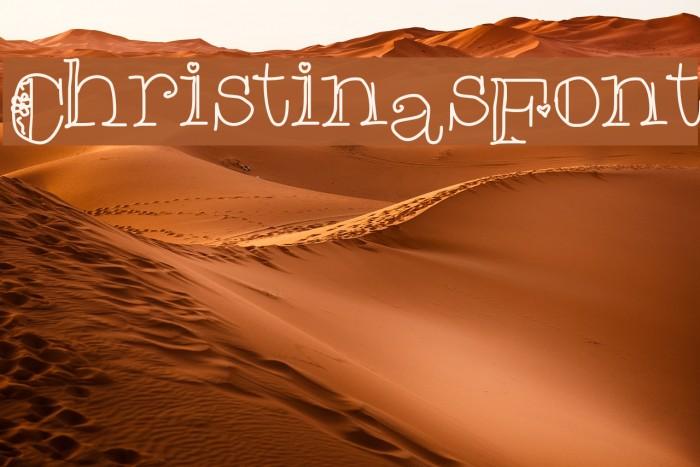 ChristinasFont Fuentes examples