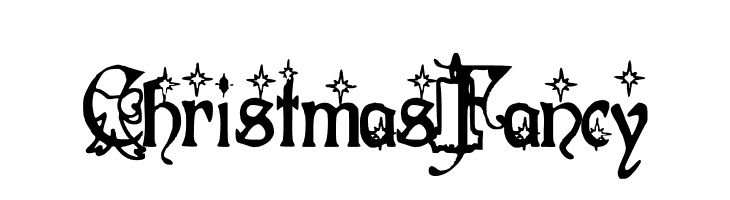 Christmas Fancy Font