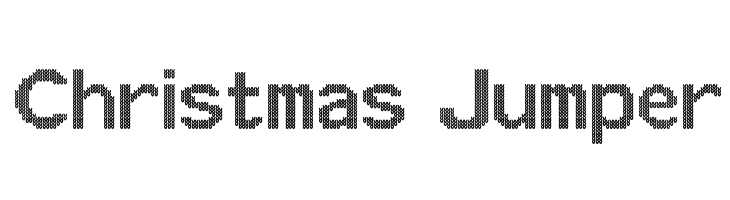 Christmas Jumper  Free Fonts Download