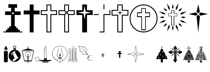 Christmas Regular Font OTHER CHARS