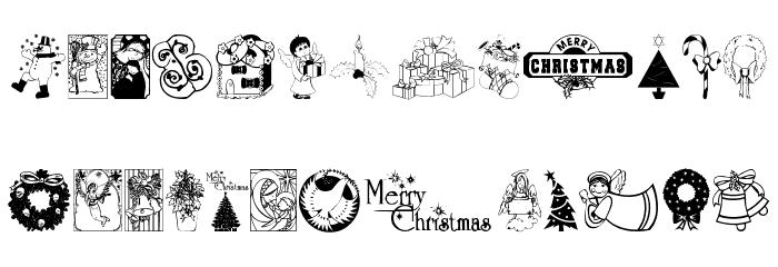 ChristmasTime Font Litere mici