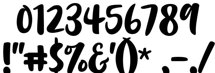 Chrisye Шрифта ДРУГИЕ символов
