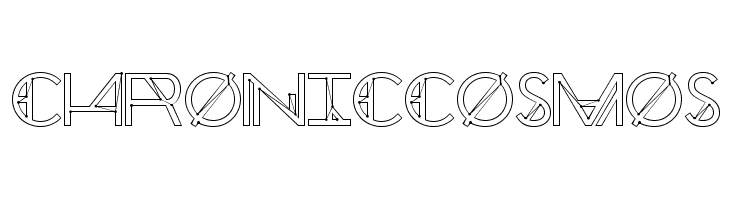 Chronic Cosmos  Free Fonts Download
