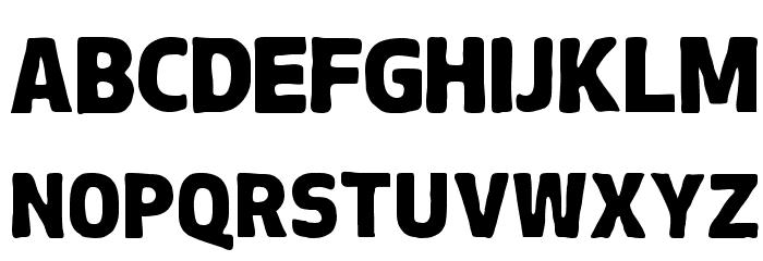 Chubby-Regular Font Litere mari