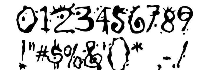 Chump Font OTHER CHARS