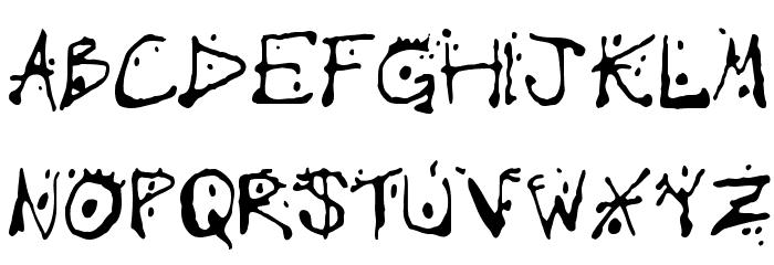 Chump Font UPPERCASE
